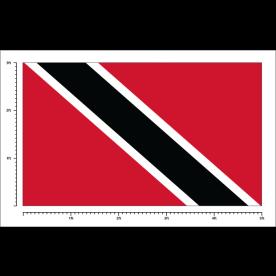 Custom Trinidad & Tobago Flag