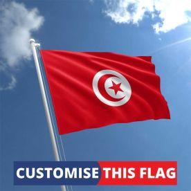Custom Tunisia Flag