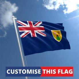 Custom Turks & Caicos Flag