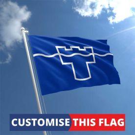 Custom Tyne & Wear Flag