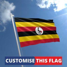 Custom Uganda Flag