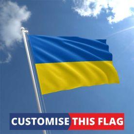 Custom Ukraine Flag