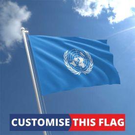 Custom United Nations Flag