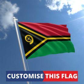 Custom Vanuatu Flag