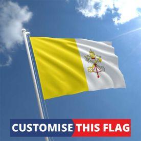 Custom Vatican City Flag