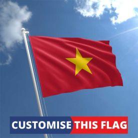 Custom Vietnam Flag