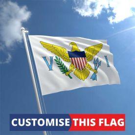 Custom Virgin Islands Flag