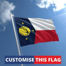 Custom Wake Island Flag