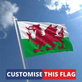 Custom Wales Flag