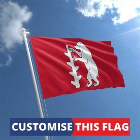 Custom Warwickshire Flag