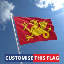 Custom Wessex Flag