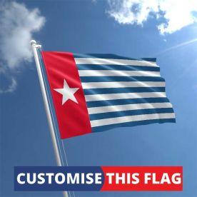 Custom West Papua Flag