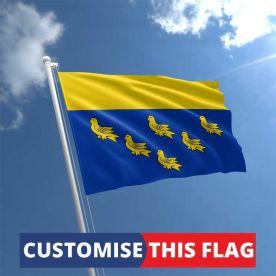 Custom West Sussex Flag
