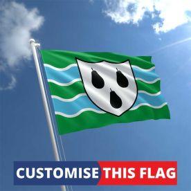 Custom Worcestershire Flag