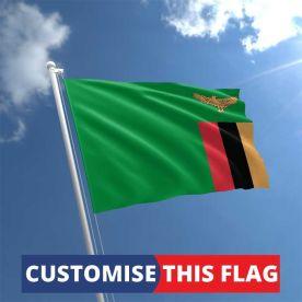 Custom Zambia Flag