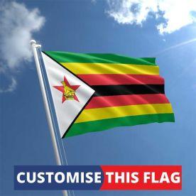 Custom Zimbabwe Flag