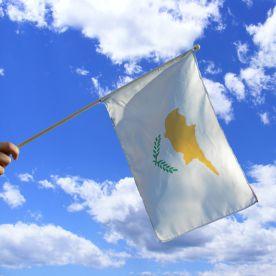 Cyprus Hand Waving Flag