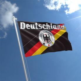 Deutschland Flag 5Ft X 3Ft