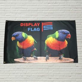 Custom Display Flag 4ft x 4ft