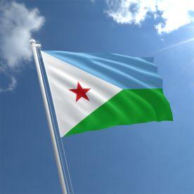 Djubouti flag