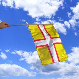Dorset Hand Waving Flag