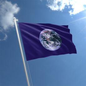 Planet Earth World Flag