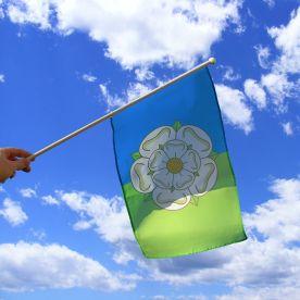 East Riding Hand Waving Flag