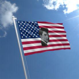 Elvis USA Flag