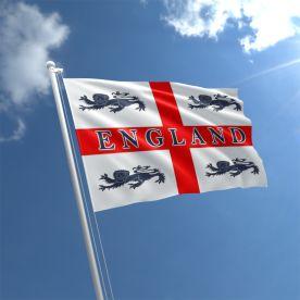 4 Lions Flag