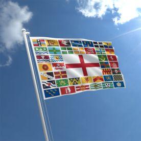 Warwickshire Flag