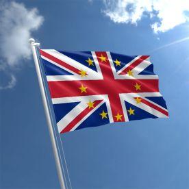 EU Union Jack Flag