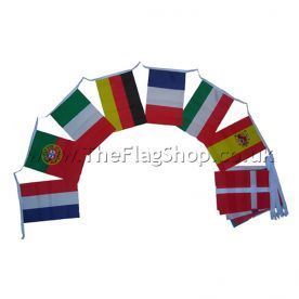 European 28 Country Flag Bunting