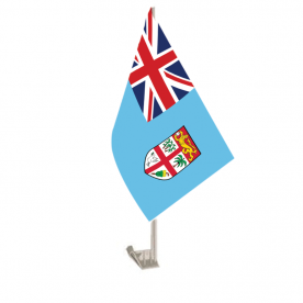 Fiji Car Flag