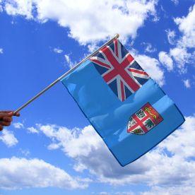 Fiji Hand Waving Flag