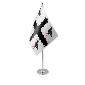 Flintshire table flag satin