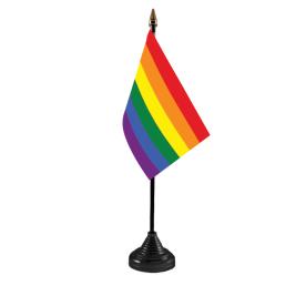 LGBT table flag