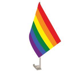 LGBT Car Flag