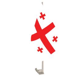 Georgia Car Flag