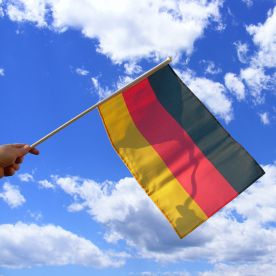 Germany Hand Waving Flag