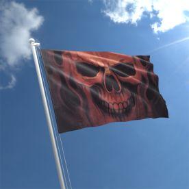 Skull Ghost Flag