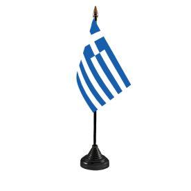 Greece Table Flag