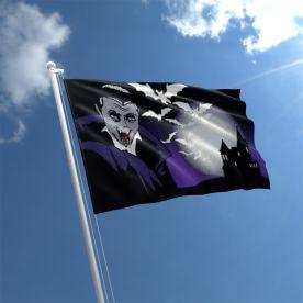 Halloween Vampire Flag