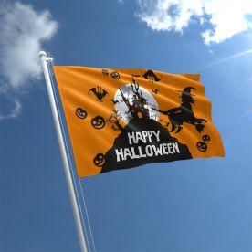 Happy Halloween Flag 3ft x 2ft