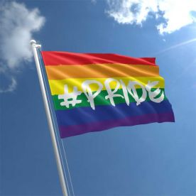 Hashtag Pride Flag