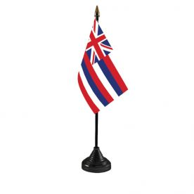 Hawaii Table Flag