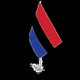 Netherlands Car Flag