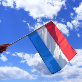 Netherlands Hand Waving Flag