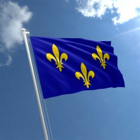 Ile de France flag