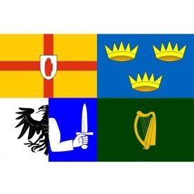 Ireland Four Provinces Flag 8ft x 5ft