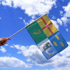 Ireland Four Provinces Hand Flag